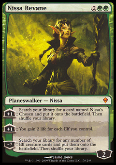 Nissa Revane ($6.98) Price History from major stores ... Planeswalker Ally Deck List